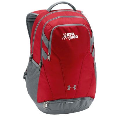 USA Judo Backpack Red
