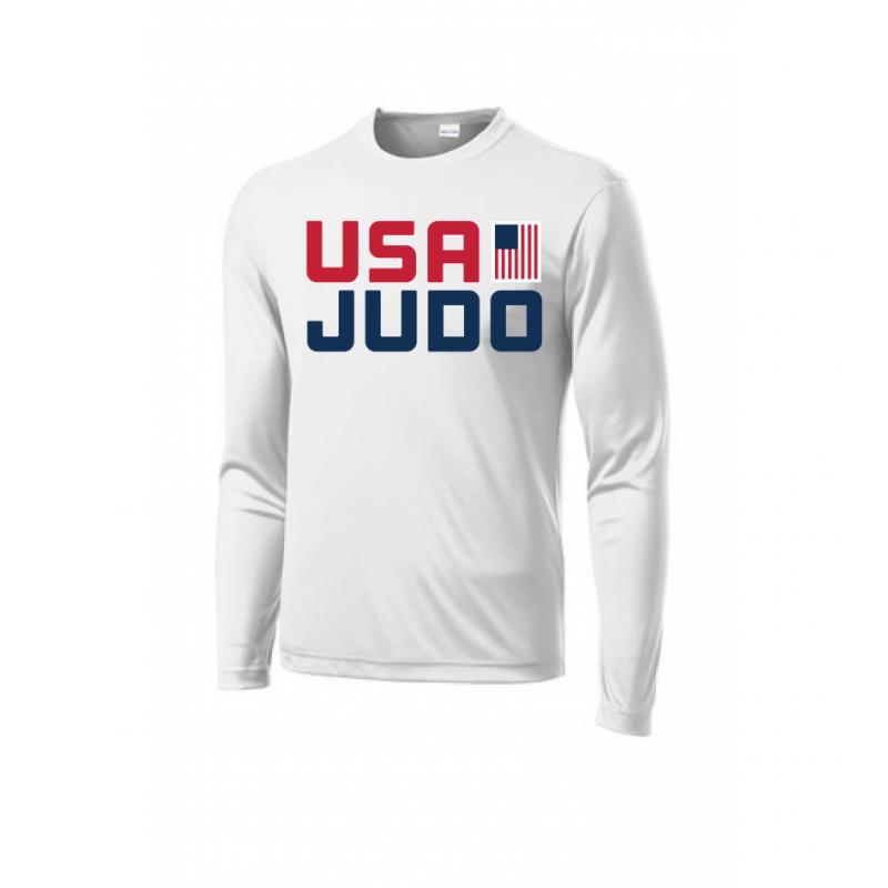 USA Judo white tee