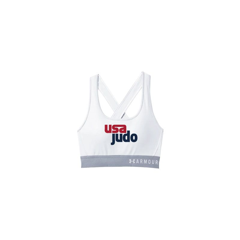 USA Judo Sports Bra White